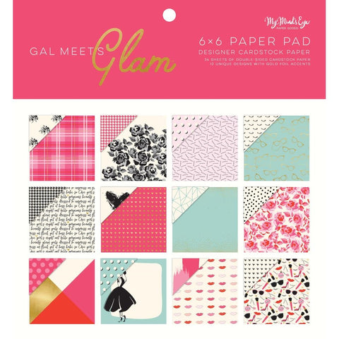 My Mind's Eye: Gal Meets Glam Paper Pad