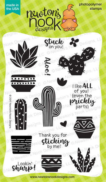 Newton's Nook Designs: Cultivated Cacti Stamp Set