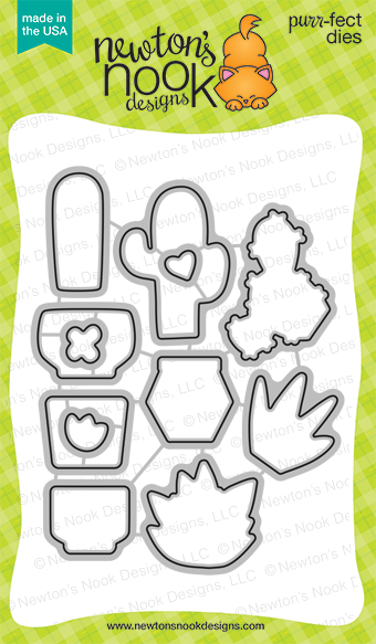 Newton's Nook Designs: Cultivated Cacti Die Set