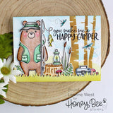 Honey Bee Stamps: Bill The Bear Stamp Set