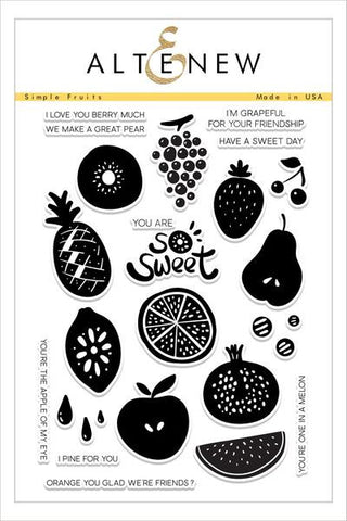 Altenew: Simple Fruits Stamp Set