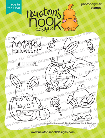 Newton's Nook Designs: Hoppy Halloween Stamp Set