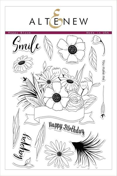 Altenew: Happy Bloom Stamp Set