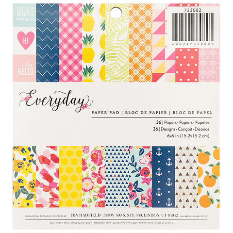 Jen Hadfield: Everyday 6x6 Paper Pad