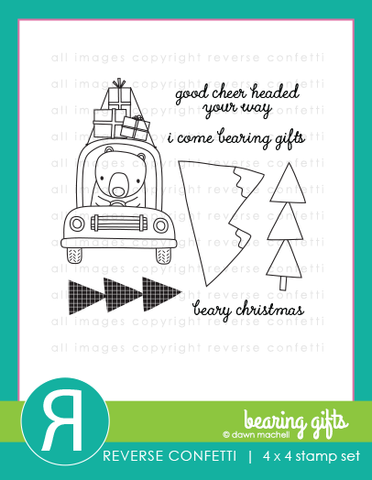 Reverse Confetti: Bearing Gifts Stamp Set