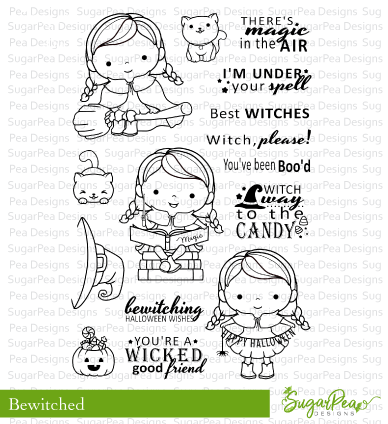 Sugar Pea Designs: Bewitched Stamp Set