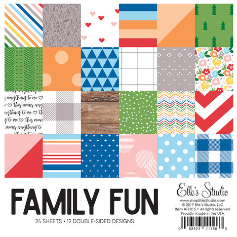 Elle's Studio: Family Fun Paper Stack