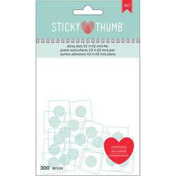 American Crafts:  Sticky Thumb Flat Adhesive Dots