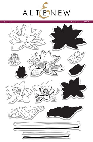 Altenew: Lotus Stamp Set