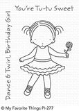 My Favorite Things: Pure Innocence Tu-tu Sweet Stamp Set
