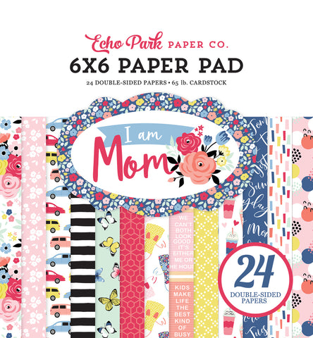 Echo Park Paper Co: I Am Mom Paper Pad