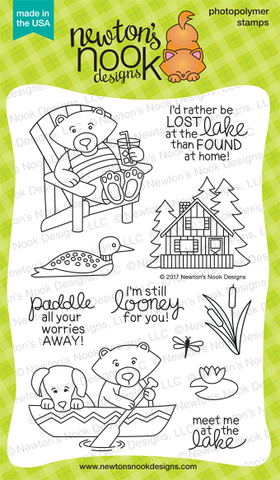 Newton's Nook Designs: Winston's Lake House Stamp Set