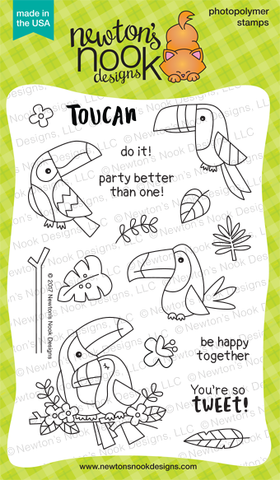Newton's Nook Designs: Toucan Party Stamp Set