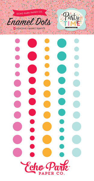 Echo Park Paper Co.: Party Time Enamel Dots