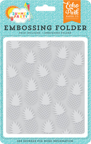 Echo Park Paper Co: Pineapple Embossing Folder