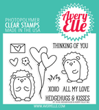 Avery Elle: Hedgehugs Stamp Set