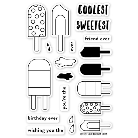 Pattern Happy: Coolest Ever Stamp Set