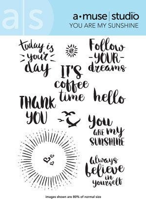 a muse studio: You Are My Sunshine Stamp Set