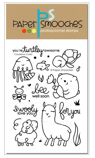 Paper Smooches: Courteous Cuties Stamp Set