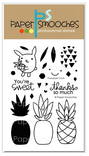 Paper Smooches: Pineapple Crush Stamp Set