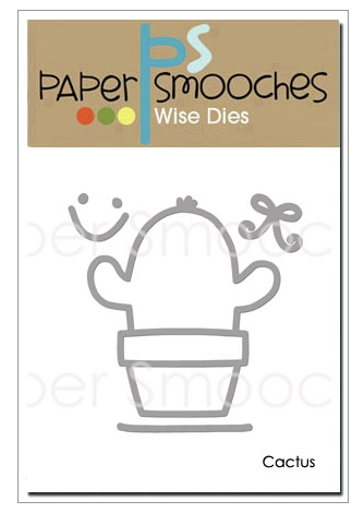 Paper Smooches: Cactus Die