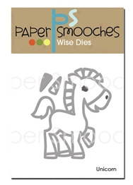 Paper Smooches: Unicorn Die Set