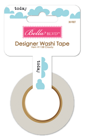 Bella Blvd: Let's Go Clouds Washi Tape