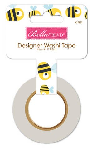 Bella Blvd: Sweet Sweet Spring Bzzz Washi Tape