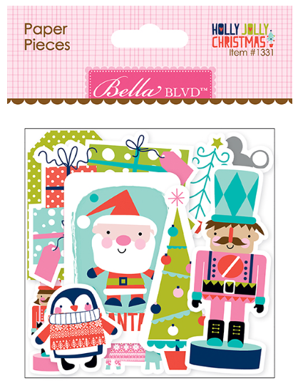 Bella Blvd: Holly Jolly Christmas Paper Pieces