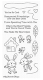 My Favorite Things: You Make my Heart Spin Stamp Set