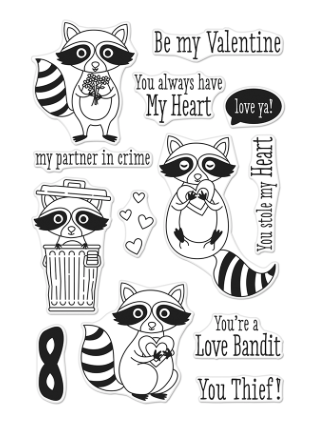Hero Arts: Love Bandit Stamp Set