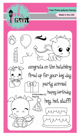 Pink & Main: Fired Up Stamp Set