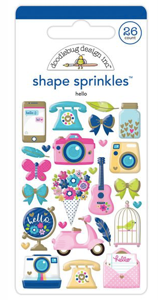 Doodlebug Design Inc: Hello Shape Sprinkles