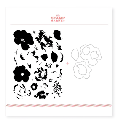 The Stamp Market: May Flowers Stamp & Cut Bundle