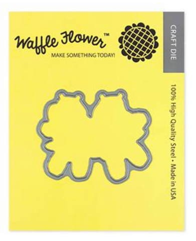 Waffle Flower Crafts: Hip Hip Hooray Matching Die Set