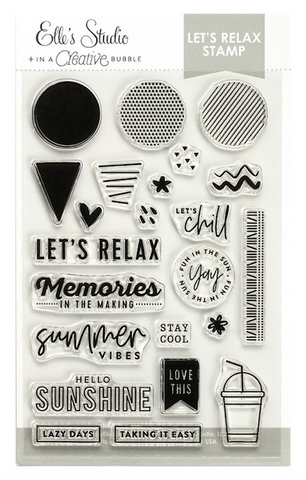 Elle's Studio: Let's Relax Stamp Set