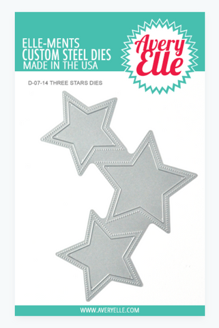 Avery Elle: Three Stars Die Set