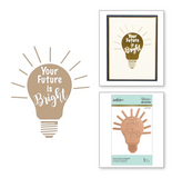 Spellbinders: Your Future is Bright Glimmer Hot Foil Plate