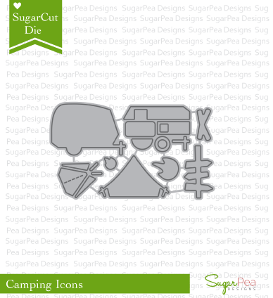 Sugar Pea Designs: Camping Icons Sugar Cuts