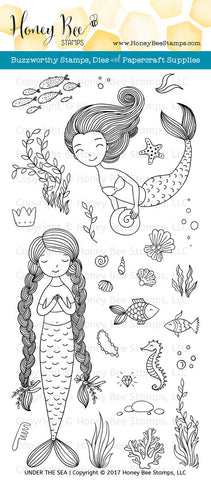 Honey Bee Stamps: Under The Sea Stamp Set