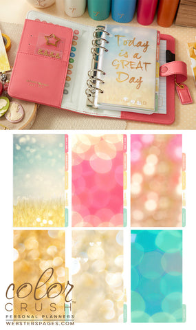 Personal Planner Kit Light Pink