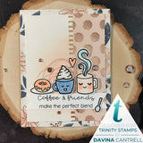 Trinity Stamps: Caffeinated Sentiments Stamp Set