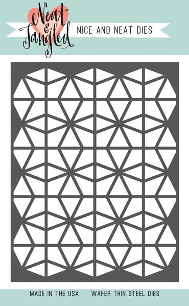 Neat & Tangled: Geometric Circles Cover Plate Nice and Neat Die