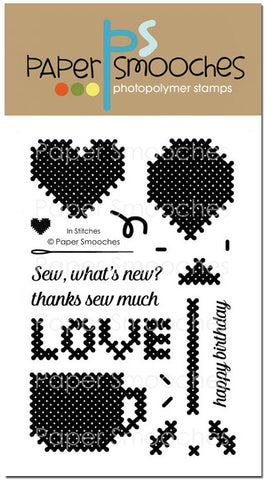 Paper Smooches: In Stitches Stamp Set