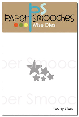 Paper Smooches: Teeny Stars Dies