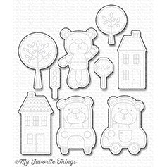 My Favorite Things: Town Bear Die-namics