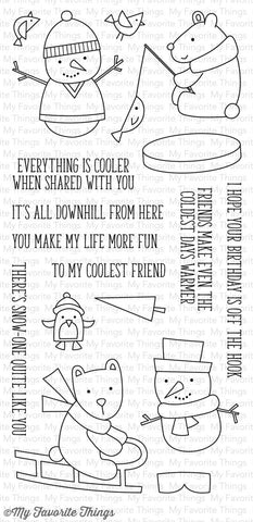 My Favorite Things: Cooler With You Stamp Set