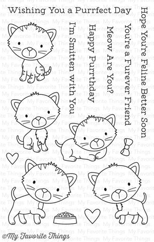 My Favorite Things: Smitten Kitten Stamp Set