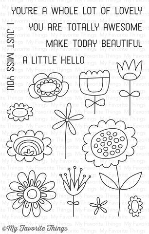 My Favorite Things: Springtime Blooms Stamp Set