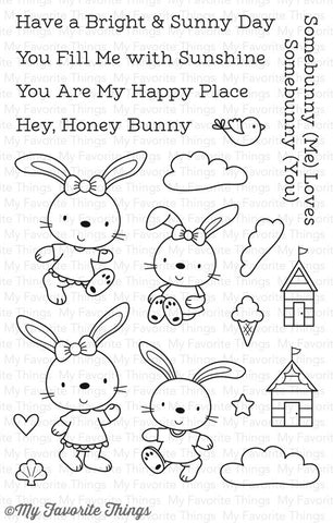 My Favorite Things: Beach Bunnies Stamp Set